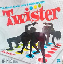 Hasbro Twister Game for All with 2 More Moves Kids Adult Board Game Party Birth