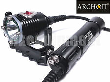 Archon DH26 Cree XM-L U3 LED Canister Scuba Snorkeling Diving Flashlight