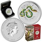 2013 $2 Year of the Snake Anda Show 2oz Silver Coloured Coin Number 381