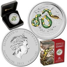 2013 $2 Year of the Snake Anda Show 2oz Silver Coloured Coin  Number 648