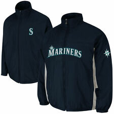 NWT Majestic Seattle Mariners Mens Triple Climate 3-In-1 Jacket XL Navy MSRP$225