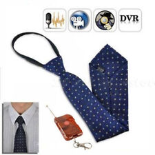 Neck Tie Covert Spy Hidden Camera Mini Cam DV VIDEO RECORDER Remote Control 8GB
