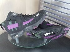 Reebok The Rail Mens Size 10.5 Milwaukee Bucks Black/Purple Basketball Shoe