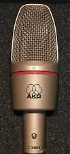 AKG C 3000 B Condenser Cable Professional Microphone NEW !! Yes NEW !!