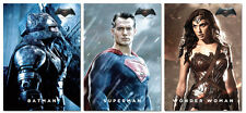 2015 NYCC Exclusive PROMO 3 Card Set BATMAN V SUPERMAN with WONDER WOMAN