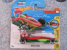 Hot Wheels 2017 #119/365 SPEEDY Sergio PEREZ red Legends of speed New Casting