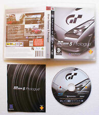 GRAN TURISMO 5 PROLOGUE sur Sony PLAYSTATION 3 PS3