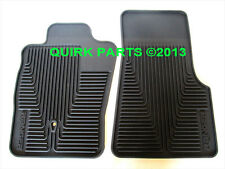2004-2010 Ford Ranger Front Black All Weather Floor Mats Set Of 2 OEM BRAND NEW