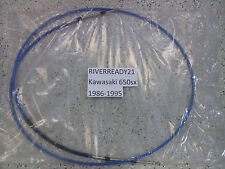 Kawasaki 650-sx Steering Cable 86-95 Jet-ski Stand up In Stock Brand New RTS