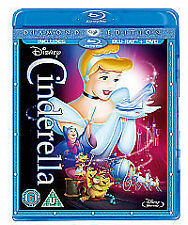 WALT DISNEY,S  - CINDERELLA - DIAMOND EDITION (BLU-RAY 2014)  BRAND NEW & SEALED