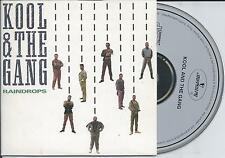 KOOL & THE GANG - Raindrops CD SINGLE 4TR CARDSLEEVE 1989 West Germany