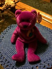 """Ty Beanie Baby """"Millenium"""" the Bear from the Beanie Babies Collection - MWMT"""