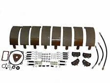 Deluxe Brake Kit with Shoes & Wheel Cylinders 58 Lincoln - all 1958 models NEW