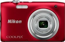 Nikon Coolpix A 100 20.1 Megapixel Compact Digital Camera - Purple