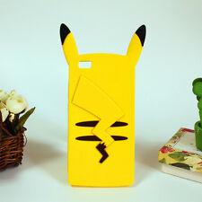 3D Cartoon Pokemon Pikachu Phone Case Silicone Cover For Huawei P8 Lite P8 Mini