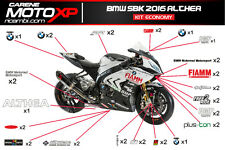 Kit Adesivi moto BMW S 1000 RR SBK 2016 Althea Version ECONOMY