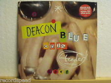 "★★ 12"" Maxi - DEACON BLUE - Only Tender Love - Columbia Promo + Poster"