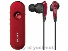 SONY MDR-EX31BN Bluetooth Wireless Stereo Noise Cancelling Headset Red