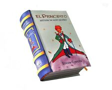 The Little Prince in Spanish El Principito Miniature Book hardbound color pages