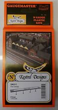 Kestrel KD11 Flat Roof Canopy.(Plastic Model Kit) N Gauge Railway