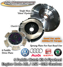 VW BORA ARL 150 SINGLE MASS FLYWHEEL & 6 PADDLE SPRUNG CLUTCH SMF VOLKSWAGEN