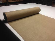"10 YARDS 10 OZ BURLAP PREMIUM NATURAL VINTAGE JUTE FABRIC 40"" WIDE UPHOLSTERY"