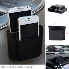 Practical Double Deck Storage Box Car SUV Air Outlet Cell Phone Charging Holder