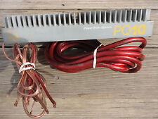 VINTAGE ADS A/D/S PQ 10 AMP AMPLIFIER  TWO  FOUR  CHANNEL  MONSTER STINGER CABLE