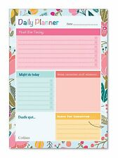 DAILY PLANNER Daily Desk Planner Schedule A5 To Do List 60 Pages by Collins