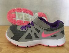 Nike Revolution 2 Shoes Baby Toddler Size 13C Gray Pink Purple