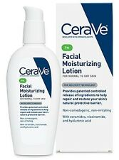 CeraVe Facial Moisturizing Lotion PM 3 oz (Pack of 2), New
