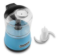 KitchenAid KFC3511 KFC3511CL 3.5 Cup Food Chopper Processor Crystal Blue