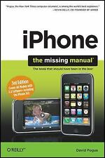 iPhone: The Missing Manual, 3rd Edition, Pogue, David, Good Book