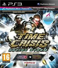 TIME CRISIS RAZING STORM PS3 MOVE Game (PRE OWNED) (USED) Excellent Condition