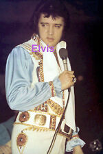 ELVIS PRESLEY FORT WORTH TEXAS TX 7/3/76 ORIGINAL VINTAGE OLD KODAK PHOTO CANDID