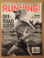 Running Times Off Road Guide Rob Krar Shoe Guide Trails Aug 2014 FREE SHIPPING!