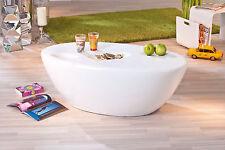 Couchtisch weiß hochglanz Beistelltisch Wohnzimmer Tisch mit Ablagemulden 108x60