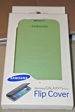 Genuine Samsung Brand Flip Open Book Case Cover for Samsung Galaxy S4 Mini Green