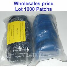 """1000 Pieces Radial Repair Round Tire Patch Large 3.1/8"""" - 80 MM Superior Quality"""