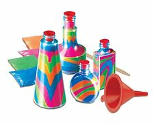 2X Childrens Bottle Sand Art Set Kids Make Your Own Activity Craft Kit