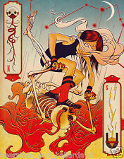 James Jean Unframed Book Page I = Frame it anyway you want!