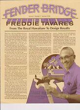 1970s V1 #2 FENDER BRIDGE vintage guitar magazine