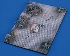 Verlinden 1/48 Ruined City Street Section Armor Display Base [Diorama] 2399