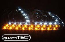 KLARGLAS CHROM SCHEINWERFER SET VW GOLF 5 JETTA LED TAGFAHRLICHT TFL LED BLINKER