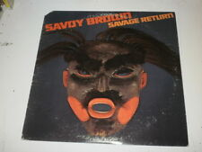 SAVOY BROWN - SAVAGE RETURN - LP 1978 LONDON RECORDS MADE IN U.S.A. - CUT COVER