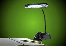 Schreibtischlampe LED,12 LED Leselampe Nachttischlampe + Batterien Tischlampe