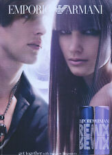 Emporio Armani ReMix Fragrances 2004 Magazine Advert #1212