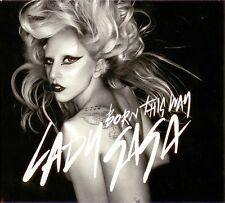 Lady Gaga CD Single Born This Way - Gatefold cardboard sleeve - England (M/M)