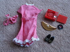 VINTAGE 1963 PEDIGREE SINDY DOLL OUTFIT ~ DREAM DATE ~ COMPLETE WITH BRACELET