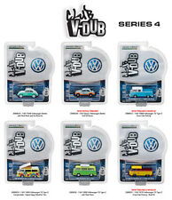 GREENLIGHT VEE V DUB SERIES 4, SET OF 6 CARS 1/64 DIECAST CARS GREENLIGHT 29860